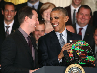 President Obama Honors NASCAR's Kyle Busch at White House