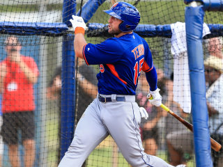 Tim Tebow Hits Home Run on First Pitch of First AB in Minors