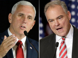 Poll: Vice Presidential Candidates Mike Pence, Tim Kaine Largely Unknown to Voters
