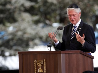 Obama, Clinton Attend Shimon Peres' Funeral in Jerusalem
