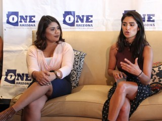 Actress Diane Guerrero Rallies Latino Voter Registration Volunteers