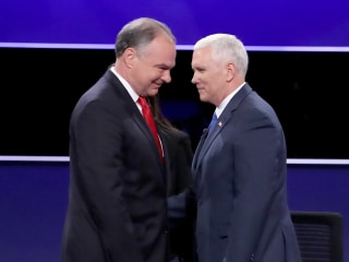 Split Decision: How Pence Helped Pence While Kaine Helped Clinton