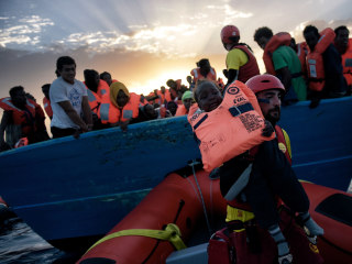 Massive Rescues Off Libya Coast Save Over 10,000 Migrants
