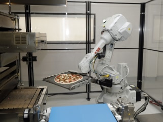Restaurant Jobs Safe From Robot Revolution, For Now