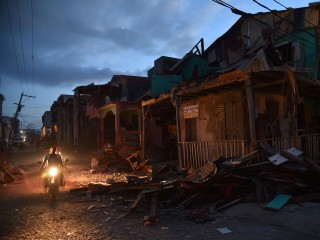 Hurricane Matthew's Wrath: Scenes of Devastation in Haiti
