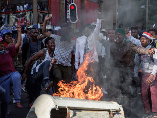 Student Protests Turn Violent in South Africa