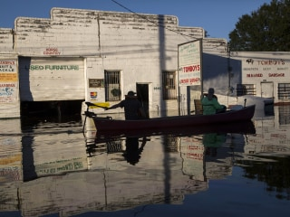 North Carolina Wades Through Post-Hurricane Flooding