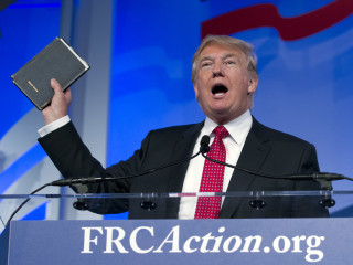 What's Behind Evangelical Support for Donald Trump? Less Than You Think