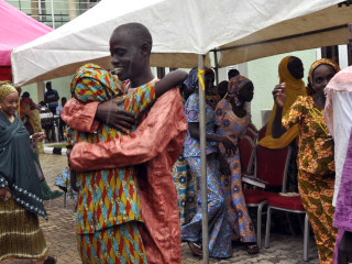 Joy as 21 Kidnapped Nigerian 'Chibok Girls' Reunite With Families