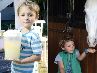 Boy tears up after meeting pony he saved up for — by selling lemonade for 2 years