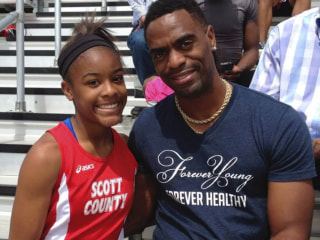 Olympian Tyson Gay Plans to Mentor Youth in Wake of Daughter's Fatal Shooting