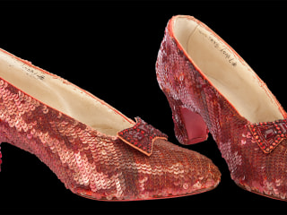 'Over the Rainbow': Save the Ruby Slippers Project Passes $300K Goal