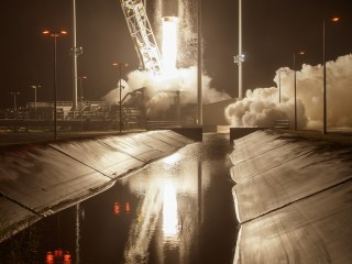 Rocket Blasts Off on Space Station Cargo Run