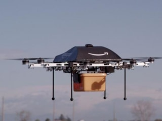 Amazon Gets Patent to Develop Drones as Bodyguards, Lost Child Locators