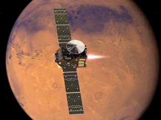 European Spacecraft Reaches Mars Orbit, But Lander's Fate Uncertain