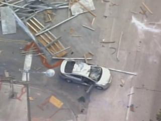 1 Dead, Several Hurt in Scaffolding Collapse at Miami High-Rise