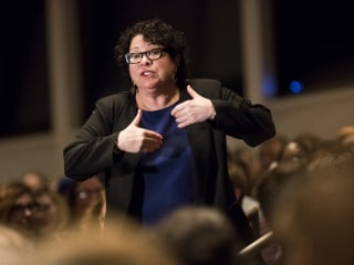 Sotomayor on Scalia: 'If I Had a Baseball Bat, I Might Have Used It'