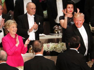 Trump, Clinton to Speak at Al Smith Dinner After Fiery Debate