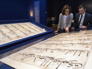 Giant Pages from Ancient Quran on Display in Washington D.C. Exhibit