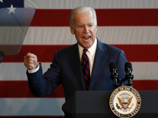 Biden Wishes He Could Take Trump 'Behind the Gym'