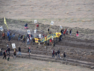 More Than 80 Dakota Access Pipeline Protesters Arrested, Some Pepper Sprayed