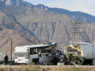 Police Identify Victims in Palm Springs, California, Bus Crash