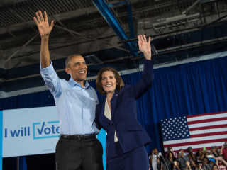Obama in Vegas: You've Got an 'Ace' in Hand With Clinton