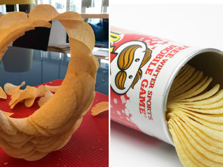 The 'Pringles ringle' is real, and it's spectacular