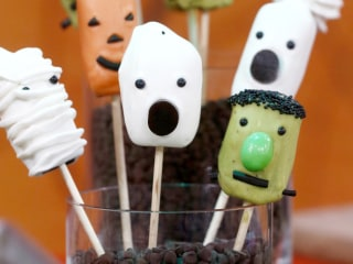Doughnut bats, Frankenstein pops and more spooky Halloween treats