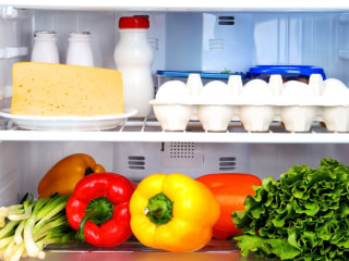 Send us photos of what's in your fridge! Joy Bauer will help you make a healthy recipe