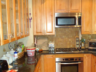 See how this kitchen renovation helped maximize storage in a small space