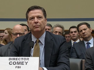 FBI Director James Comey: 2016 'a Challenging Year'