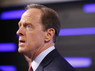 Pennsylvania Sen. Pat Toomey Still Won't Answer Trump Question