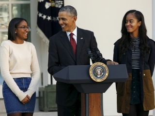 Obama Reveals Leadership Advice He's Given His Daughters