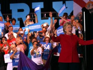 Clinton: Trump Making 'Unprecedented Attack' on Democracy