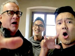 Watch Wong Fu Productions Hang Out (and Rap!) with Tom Hanks