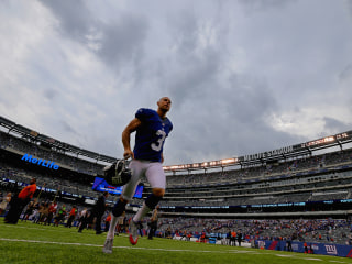 Giants Cut Kicker After Admissions of Domestic Abuse