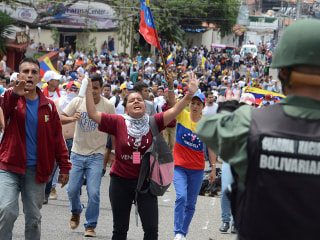 Huge Protests Seek End of Socialist Rule in Venezuela