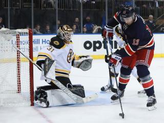 Rangers Score Five Unanswered Goals, Beat Bruins 5-2 at MSG