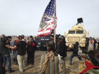 Dakota Access Pipeline: Authorities Start Arresting Protesters in New Camp
