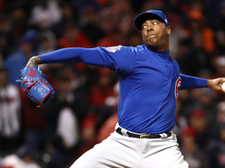 Pitcher Aroldis Chapman Signs $86 Million Contract With Yankees