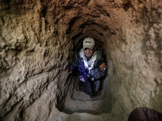 Iraqi Forces Fighting ISIS Near Mosul Uncover Large Network of Tunnels