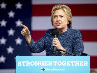 Clinton Doesn't Mention Email Investigation at Rally