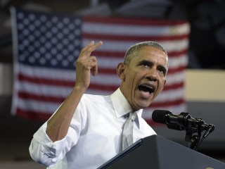Obama: Keep Sprinting Through Election Day Finish Line