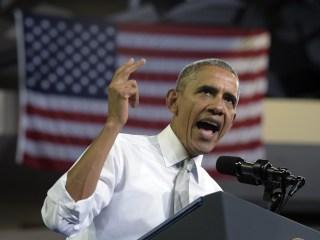 Obama: Keep Sprinting Through Election Day Finish Line
