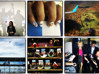 On the Trail With Hillary: Photog's Instagrams Peek Behind the Scenes