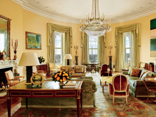 Look Inside the Obamas' Stylish White House Home