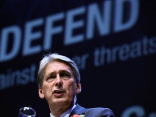 U.K. Cybersecurity Spending to Rise by $2.3 Billion: Philip Hammond
