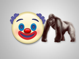 Apple's New Emojis Include a Creepy Clown and... Harambe?