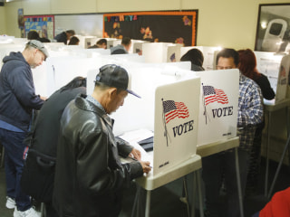Civil rights groups sue California secretary of state over voter language assistance